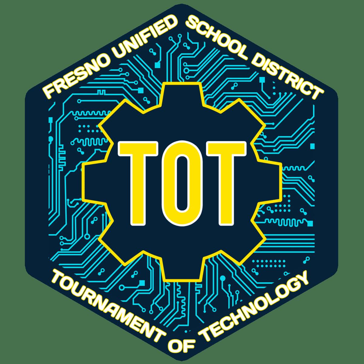 Fresno Unified Tournament of Technology Logo
