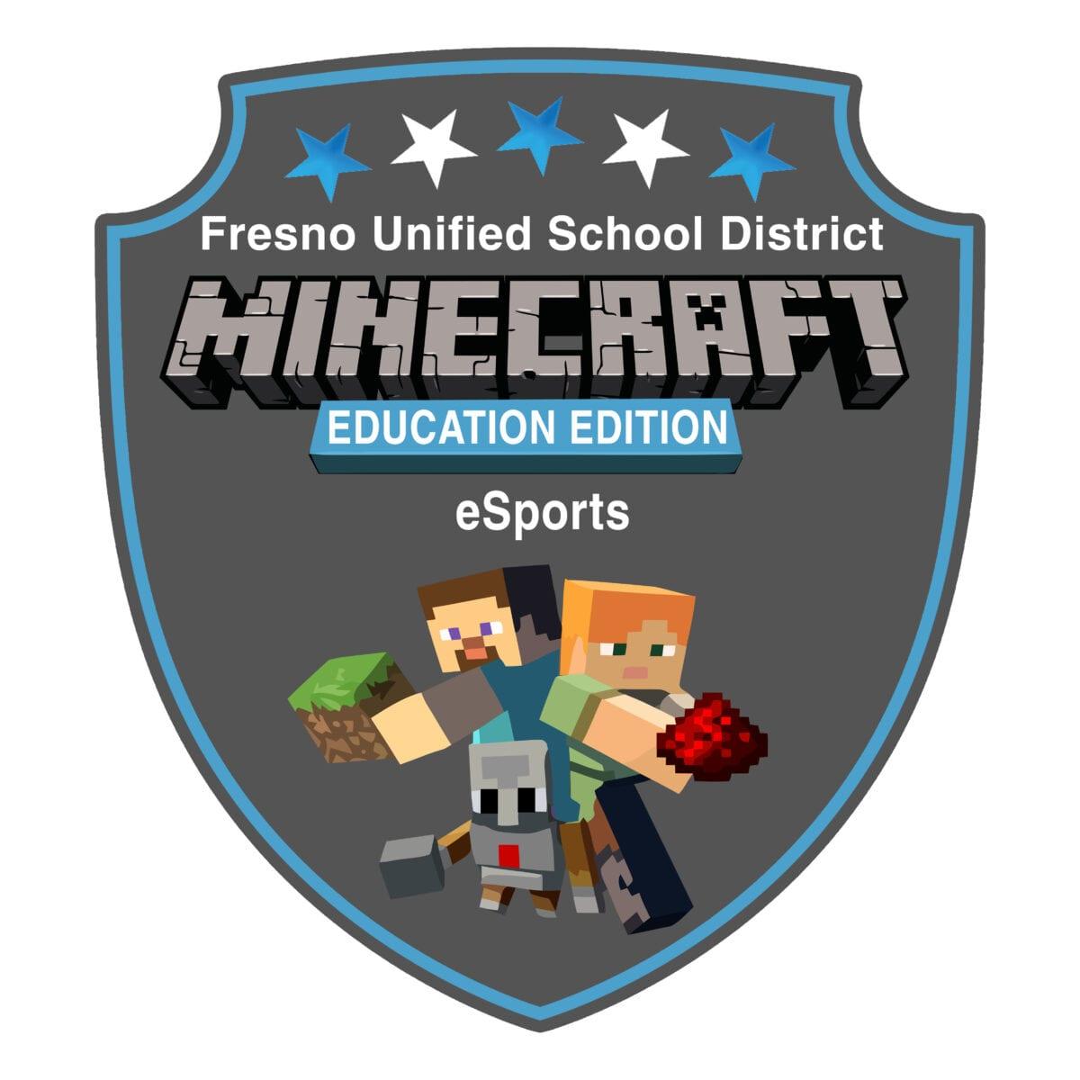 Fresno Unified Minecraft eSports Logo